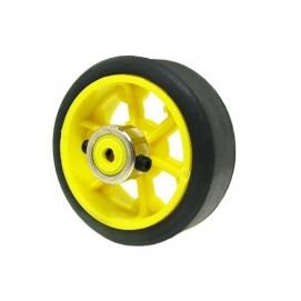 چرخ ۷ سانتی  با بوش فلزی