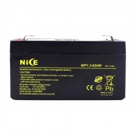 باتری خشک 6 ولت 1.3 آمپر ساعت