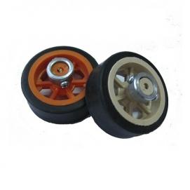 چرخ ۵ سانتی با بوش فلزی