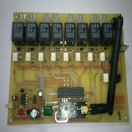 کنترل چهار موتوره جریان بالا بی سیم