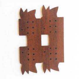 پایه گیربکس چوبی